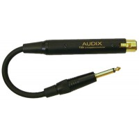 AUDIX T50K Adaptador Transformador de Impedancias con cable.