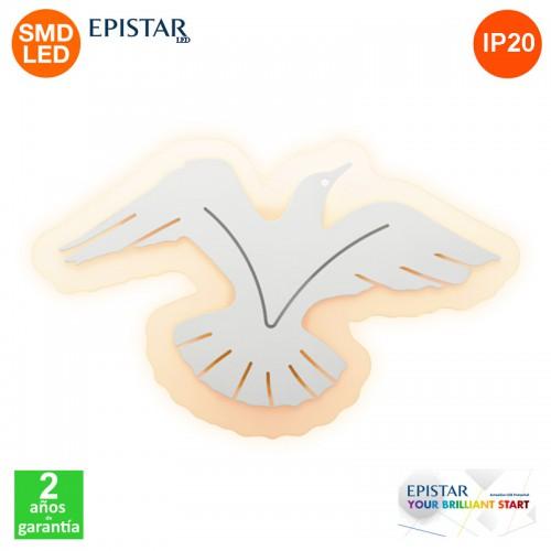 Aplique Plafón Led Eagle 24W IP20 1600Lm Epistar