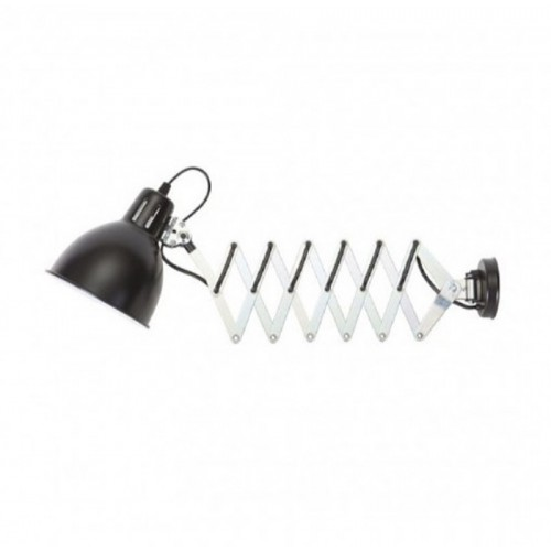 Flexo 6C Extensible 1 x E27 Color Blanco, Negro, Plata Mate (sin Bombilla)