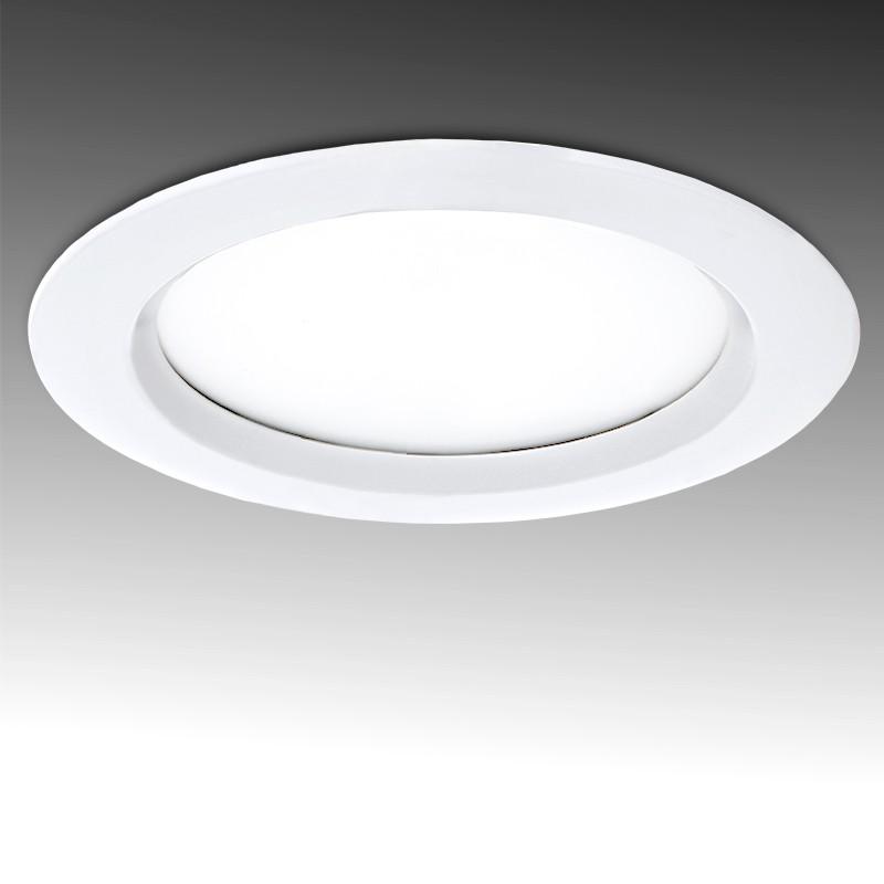 Foco Downlight de LEDs Circular IP65 para baños y Cocinas 18W 1620Lm Ø 190mm Ø Corte 161mm 50.000H
