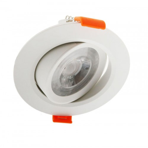 Foco Downlight LED Circular 7W 630Lm Ø 90x42mm Ø Corte 66mm 30.000H SMD3545