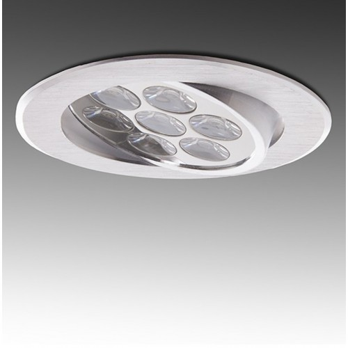 Foco Downlight LED Circular Serie ECO de 7W Ø108mm 700Lm 30.000H