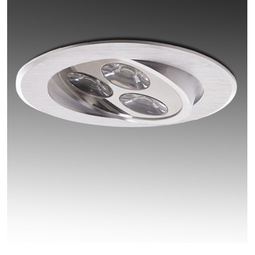 Foco Downlight LED Circular Serie ECO de 3W Ø85mm 300Lm 30.000H