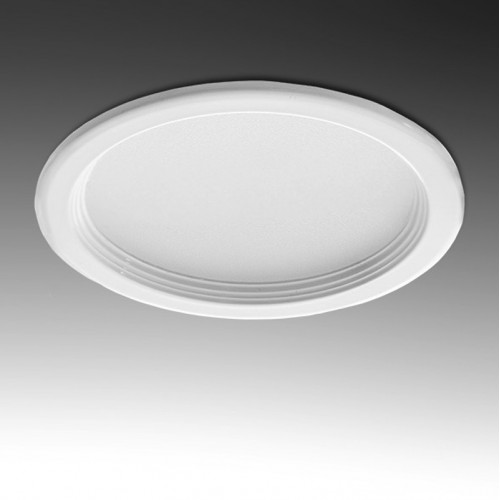 Foco Downlight LED Circular de 3W Ø76mm 240-270Lm Aro Blanco