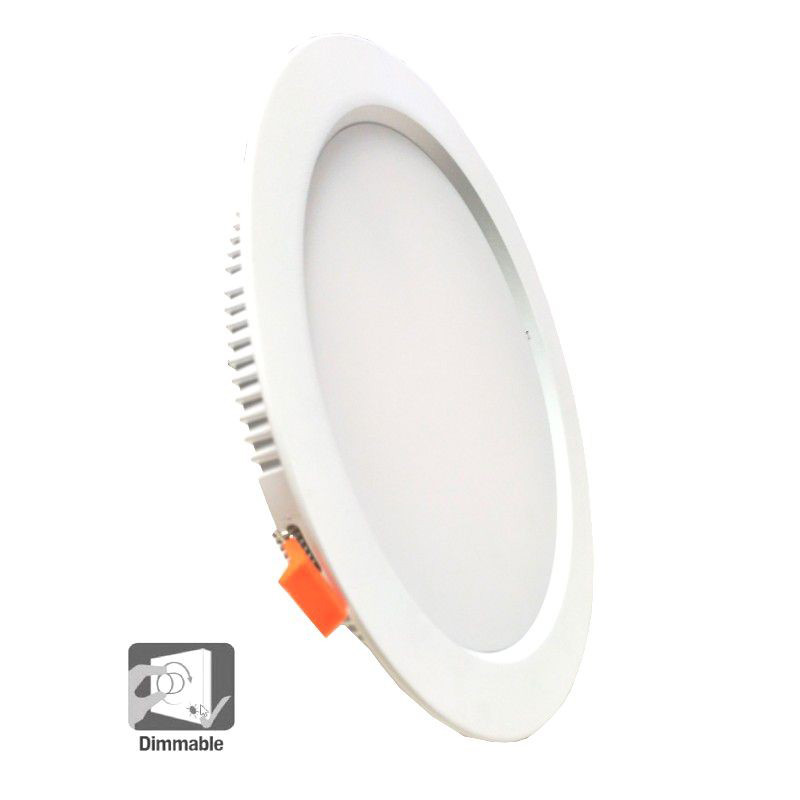 Foco Downlight 30W 3300Lm Leds SMD DIMABLE Circular Ø 220mm Corte 200mm 40000H 110Lm/W