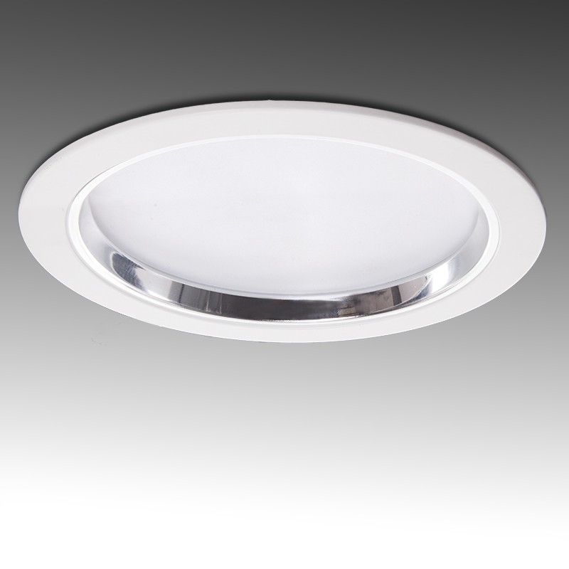 Foco Downlight LED Circular Serie ECO de 30W Ø230mm 2400Lm 30.000H
