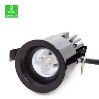Foco Spot Downlight LED 2W 180Lm Empotrable 36mm Corte 33mm 30.000H