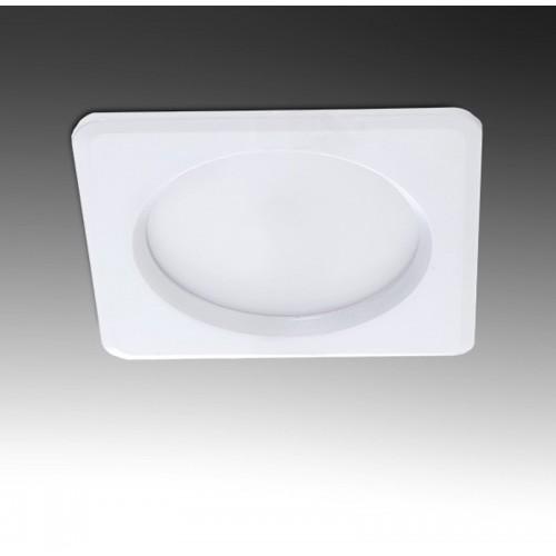 Foco Downlight Cuadrado de 15W 1350Lm IP65 serie Baños y Cocinas Leds SMD2835 108x108mm Corte 92x92mm 50.000H