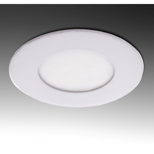 Placa Foco Downlight de LEDs Circular ECO 3W 230Lm Ø90mm ØCorte 65mm 30.000H