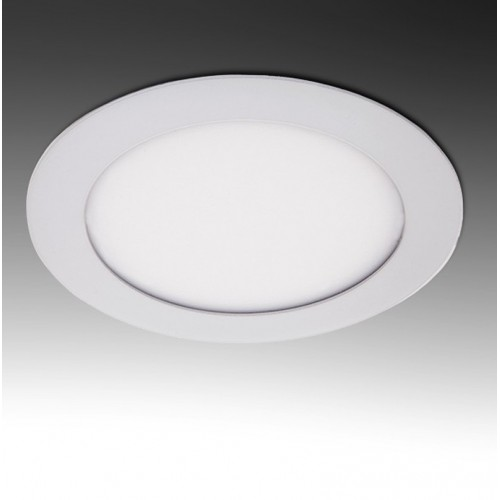 Placa Foco Downlight de LEDs Circular ECO 6W 400Lm Ø120mm Ø Corte 103mm 30.000H