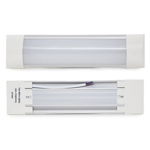 Luminaria de LEDs Lineal de 10W 900Lm Superficie de 300mm 30.000H