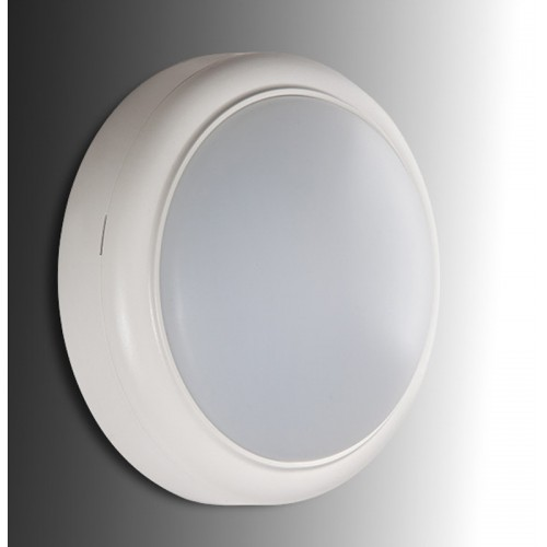 Plafón Aplique de Leds de 15W 1050Lm 30.000H IP65 Circular Ø182x66mm (ideal Techos y paredes) para superficies