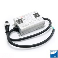 Driver Programable 1- 50W Meanwell XLG-50-A para Focos Modulares Led Speed / Heatsing