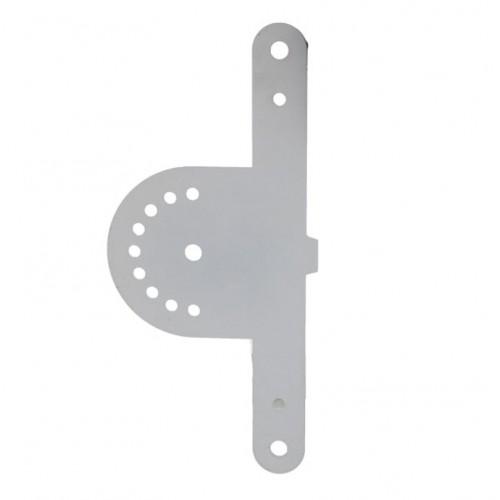 Soporte Doble para Foco Led Modular 50W 90° Tablet