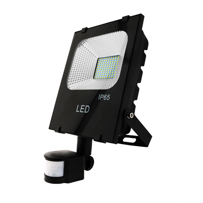 Foco Proyector LED 50W SMD 4920Lm Detector Movimiento 30.000H