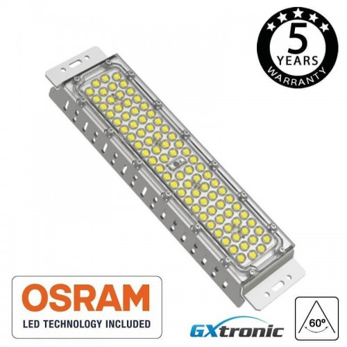 Módulo Foco Proyector 50W MAGNUM LED OSRAM CHIP SMD 3030-3D 25° 60° 136°x78° 180Lm/W 50.000H IP65 Serie PRO