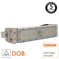 Modulo Proyector LED 50W IP65 DOB MAGNUM OSRAM SMD3030-3D 60° 90°180Lm/W Serie PRO