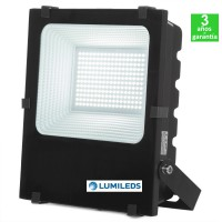 Foco Proyector LED 100W 130Lm/W IP65 Luxeon Lumileds SMD2835 Regulable 50.000H
