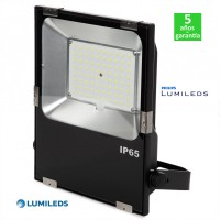 Foco Proyector LED Regulable 60W 120Lm/W IP65 Luxeon Lumileds SMD3030 Slimline