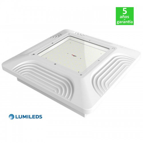 Foco Proyector LED 80W IP65 130Lm/W Philips Lumileds Especial Gasolineras/Doseles Serie PRO