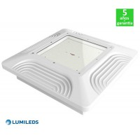 Foco Proyector LED 100W 130Lm/W Lumileds Serie PRO Empotrable Especial Gasolineras/Doseles