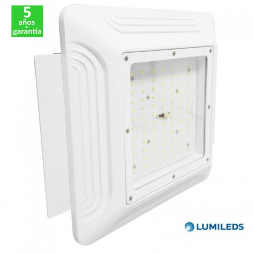 Foco Proyector LED Superficie 100W 13000Lm Lumileds Especial Gasolineras/Doseles Serie PRO