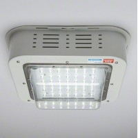 Luminaria Plafón Proyector LED 100W IP65 9500Lm IK08 Lumileds/Meanwell 100.000h PRO Especial Gasolineras