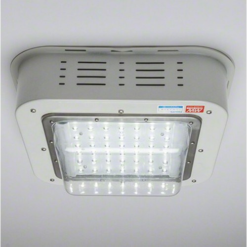 Foco Plafón LED Especial Gasolineras 100W 9500Lm IP65 IK08 100.000H Philips/Meanwell PRO