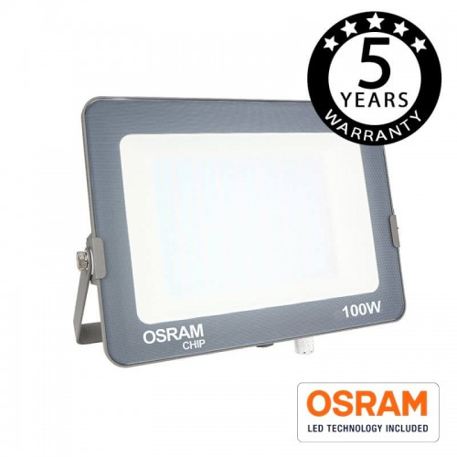 Foco Proyector LED 100W COLOR AJUSTABLE AVANCE OSRAM CHIP  3000K-4000K-6000K