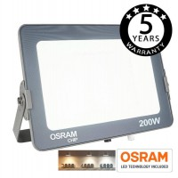 Foco Proyector LED 200W IP65 BLANCO AJUSTABLE AVANCE OSRAM 3000-4000-6000K Serie PRO