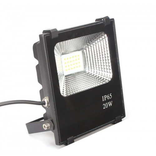 Foco Proyector LED 20W SMD 3030-3D 2400Lm PRO Dimable por Triac