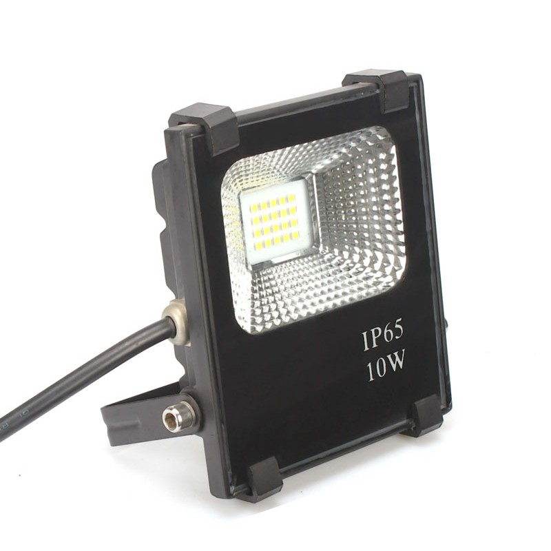 Foco Proyector LED 10W SMD 3030-3D 1200Lm IP65 40.000H Dimable por Triac