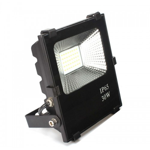 Foco Proyector LED 30W SMD 3030-3D 3600Lm PRO IP65 Dimable por Triac