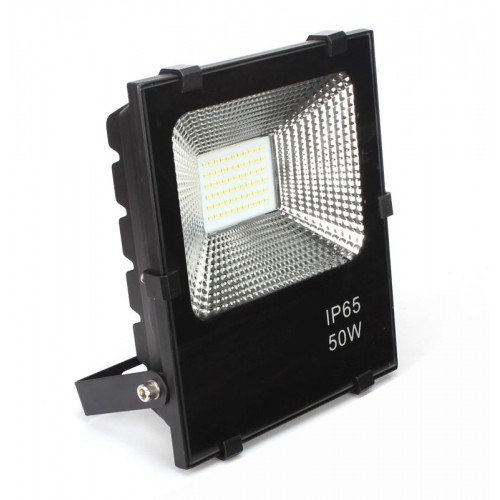 Foco Proyector LED 50W IP65 SMD3030-3D 40.000H Dimable por Triac PRO