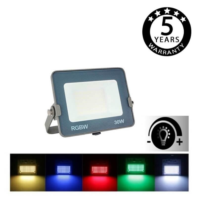 Foco Proyector LED RGB+Blanco 30W AVANCE OSRAM Chip