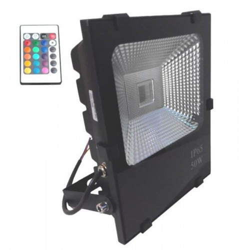 Foco Proyector Exterior LED 50W RGB PRO-1-DIMABLE-50000h