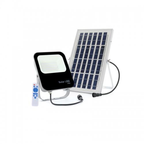 Foco Proyector LED Serie SOLAR 30W IP65 120Lm/W Control Mando Distancia